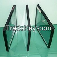 HOT! double pane insulated glass, low e insulated glass, insulated glass panels 5mm+5mm 6mm+6mm 8mm+8mm clear tempered low e insulated glass price