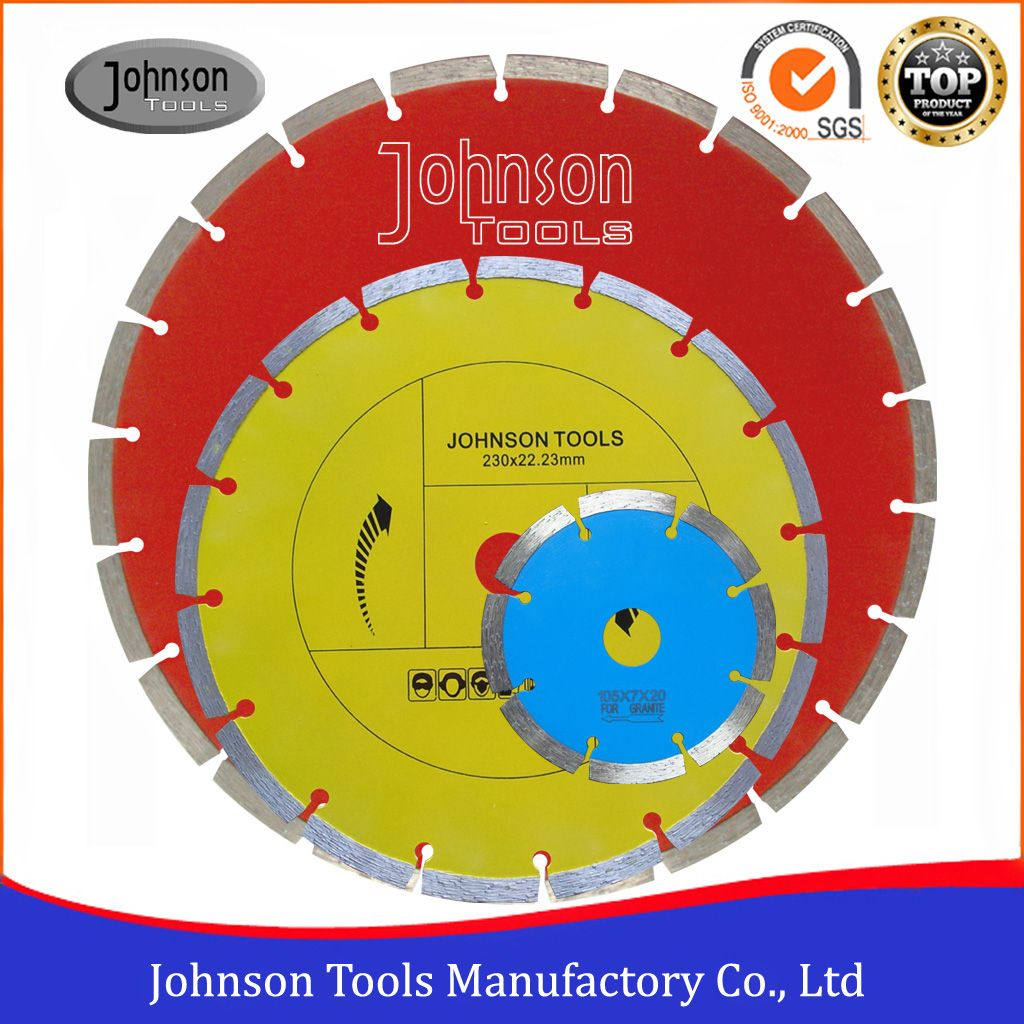 105-350mm Sintered Saw Blade Cutting Concrete