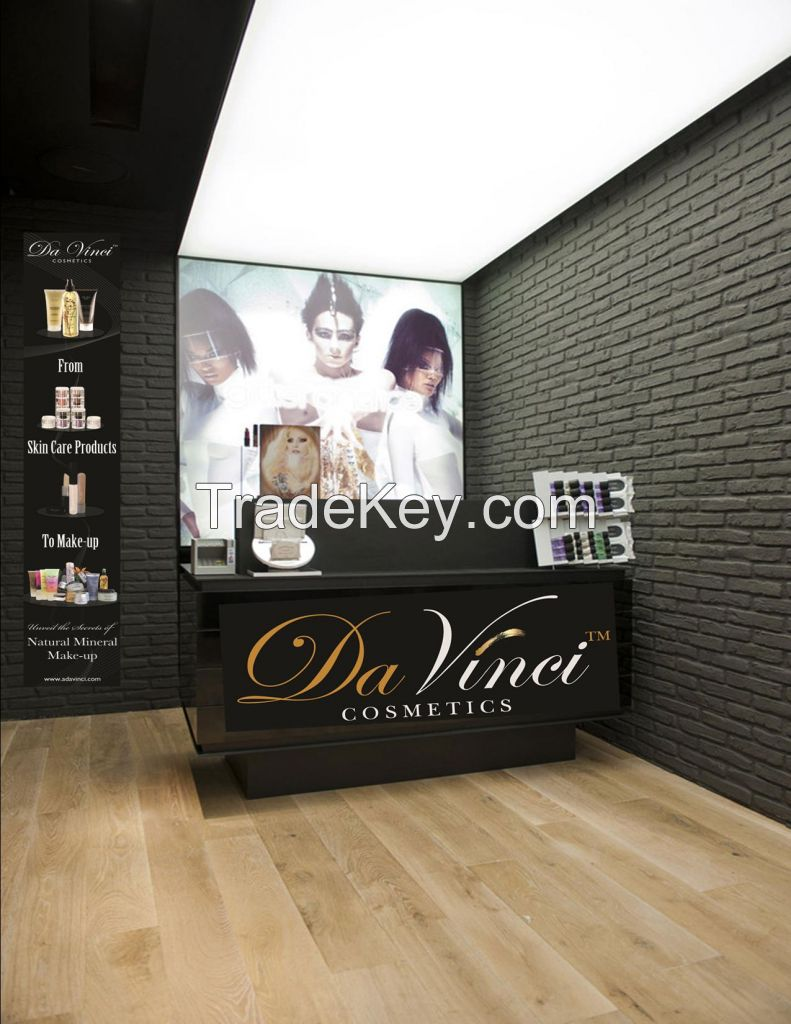 Da Vinci Cosmetics is looking for Exclusive Agent by Country 100 % natural mineral makeup line