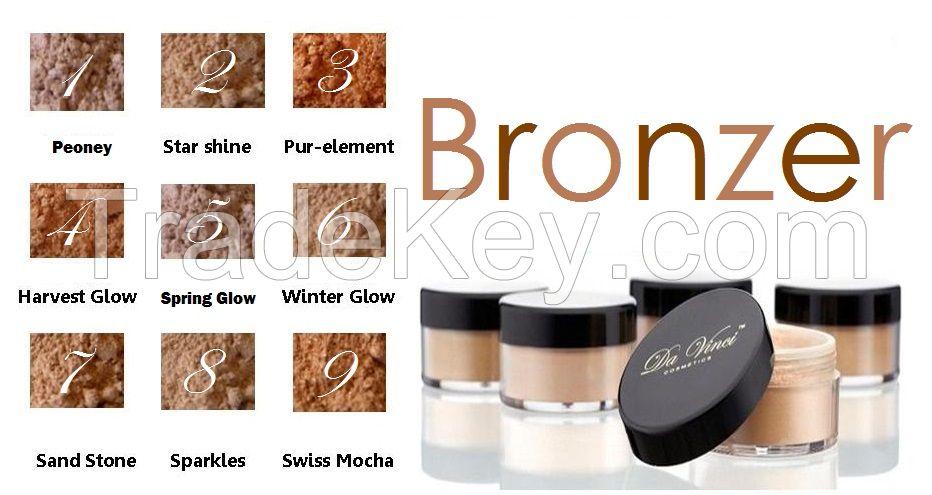 Da Vinci Cosmetics Powder Bronzer with Glitter