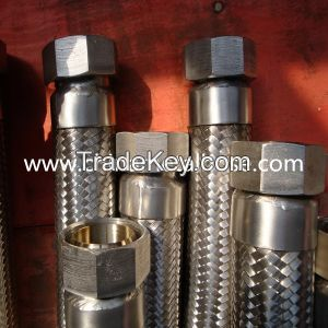 stainless steel 304/316L flexible metal hose with hoses