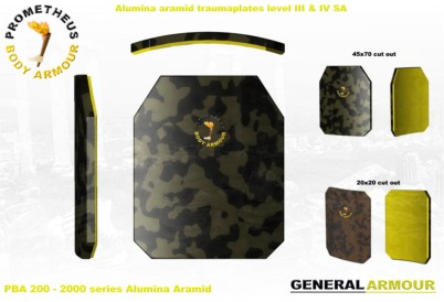 Rifle plates, SIC, B4C and Alumina