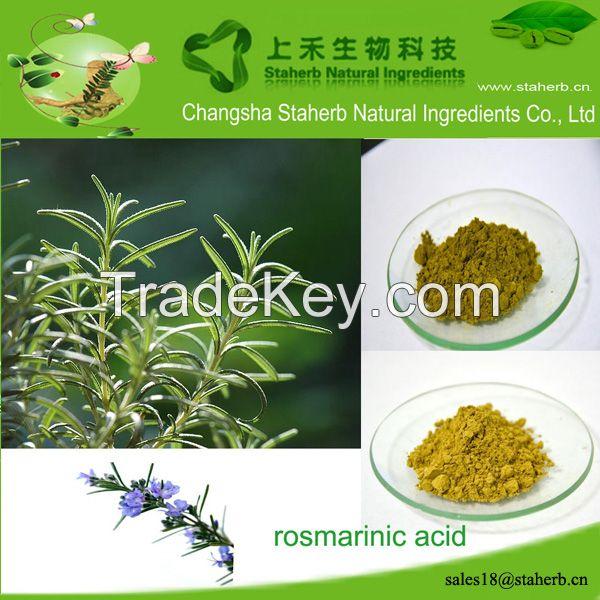 Factory supply Rosmarinic acid,Rosemary extract,Preservative