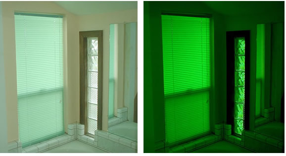 Energy Efficient Full Illumination That Needs No Electric Power Window
