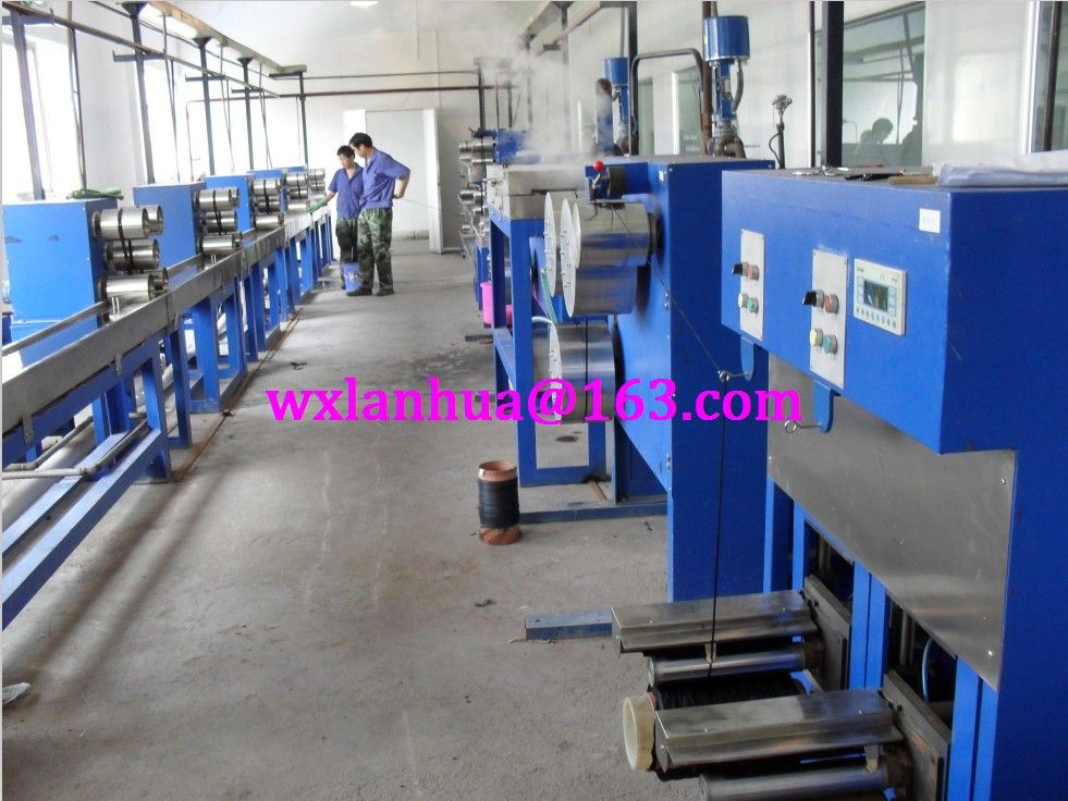 Wet-spinning production machine