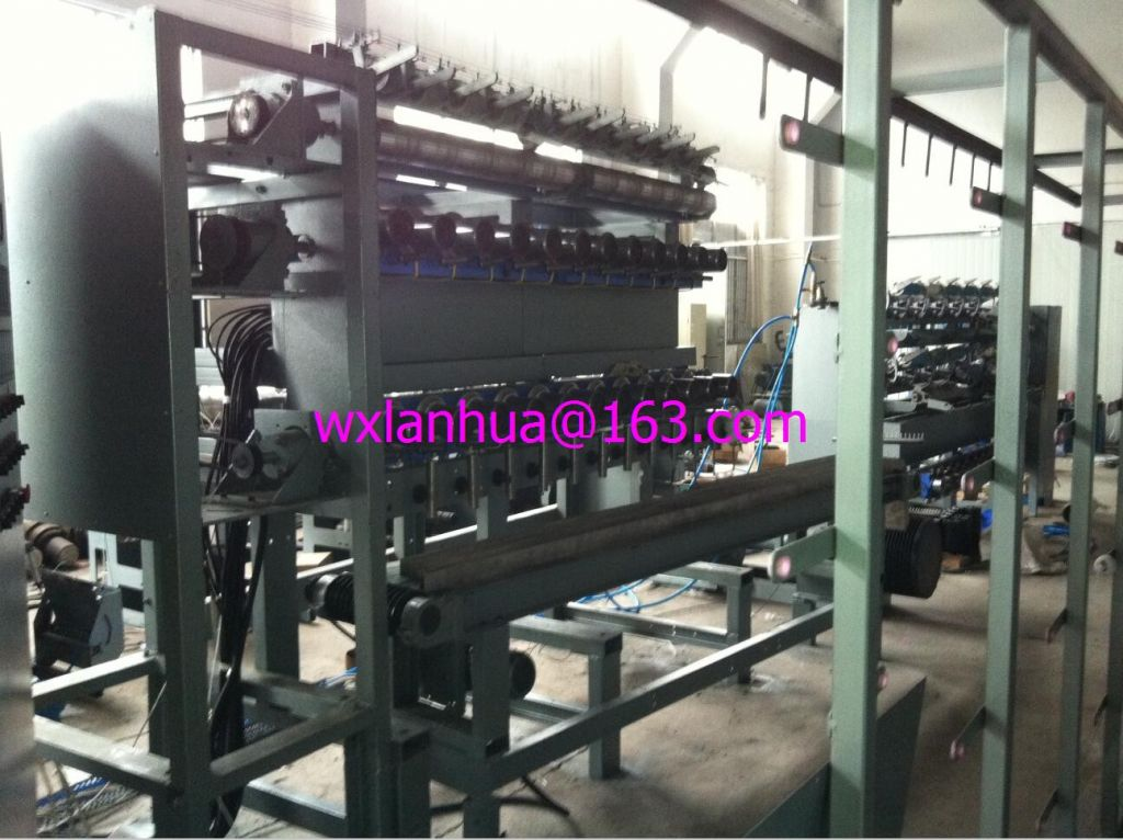 PET/PP/PA6 BCF two-step spinning machine