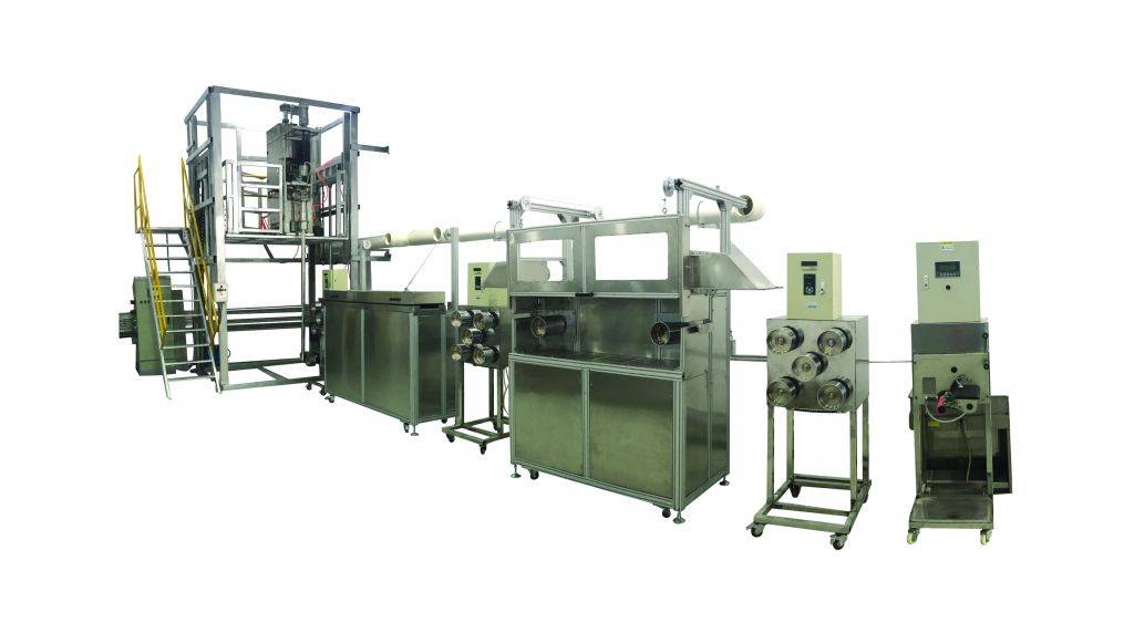 Wet spin, Dry-jet wet spin, Dry spin multiuse pilot machine