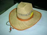 Promotional straw Cowboy Hat