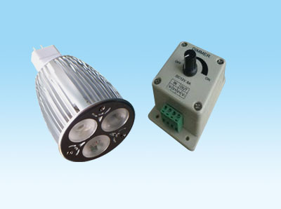 led dimmable bulb MR16-3W3