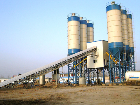 HZS25/35/60/90/120/150 Series Concrete Batching Plant