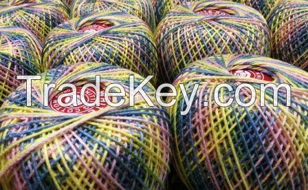 hand knitting cotton yarn
