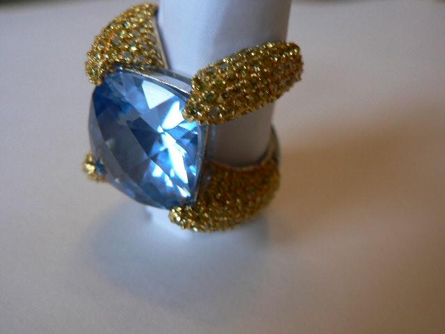 Italian silver ring