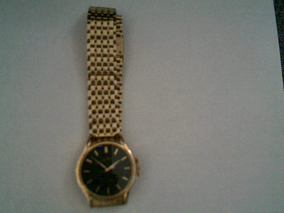 Orient Gold Plated Mens Waterproof watch