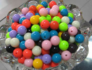 jewelry fittings acrylic beads