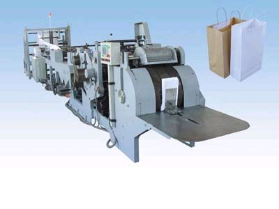 China Paper Bag Making Machine