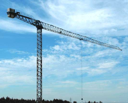 Flat-Top Tower Crane