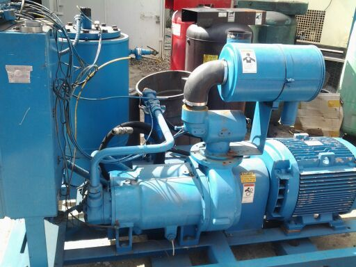 INDUSTRIAL AIR COMPRESSORS NEW AND USED. SYNTHETIC LUBRICANTS