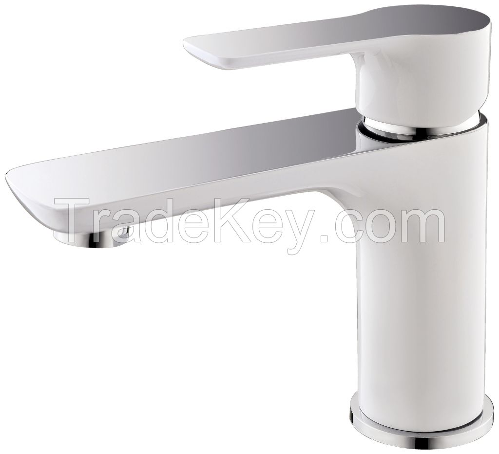 Hot Selling Single handle single hole Solid Brass basin faucet bathroomfaucets