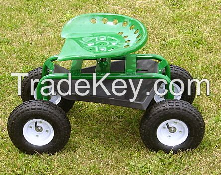 The Tractor Seat on Wheels: Handy Caddy