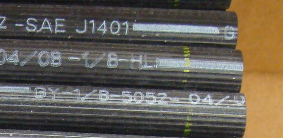 Hydraulic Brake hose SAE J1401 FMVSS 106