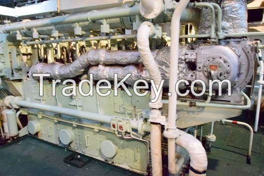 CODE NO. WT-437PT OF USED PUSHER BOAT/TUG BOAT