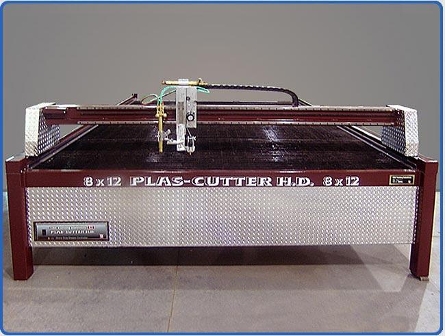 CNC Plasma Cutting Machine - plasma cutting, oxy/fuel cutting, HVAC cu