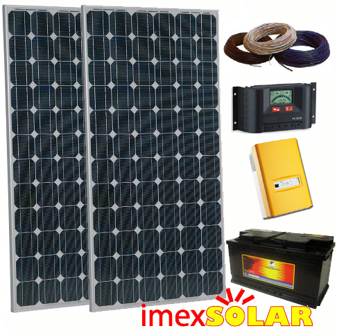Solar Panels (Stand alone solar power system)