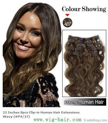 hot sale  clip in hair extension