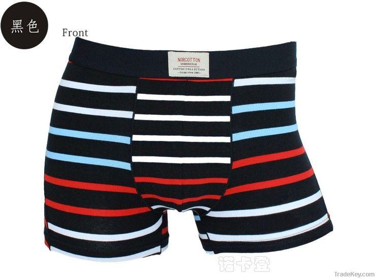 stripe men shorts Cotton briefs (S, M, L, XL, XXL, XXXL )men underwear pant