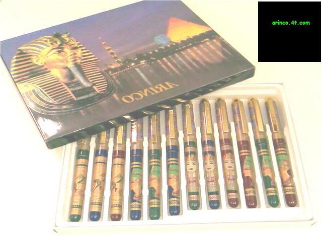 egyptian pen , ruler , bag , hat , wallet pen , boot,camel,pad,key rin
