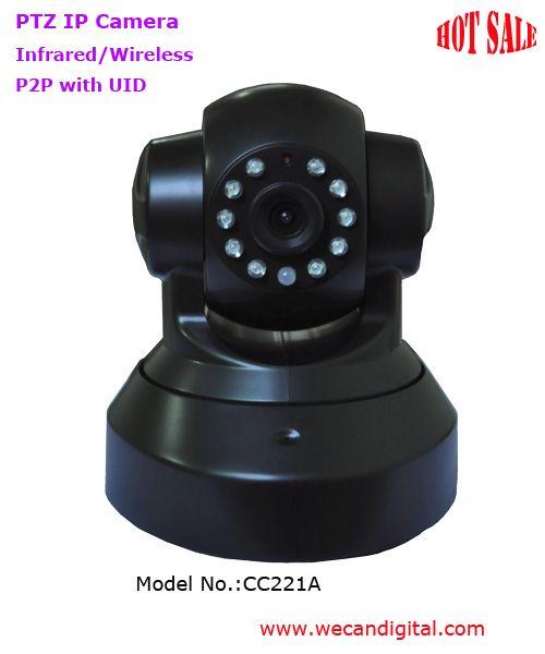 720P WiFi PTZ IP Camera
