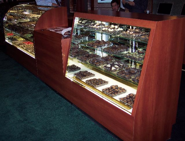 Candy Display Cases