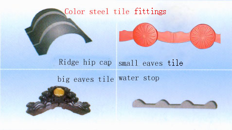 offer China steel tile products