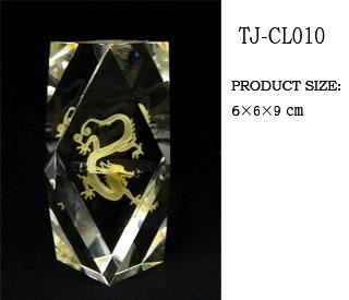3d color laser crystal