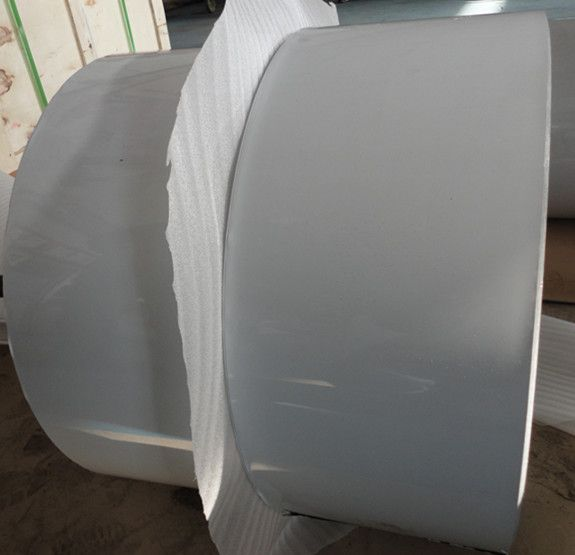 Lacquer aluminium foil with lubricated for airline container