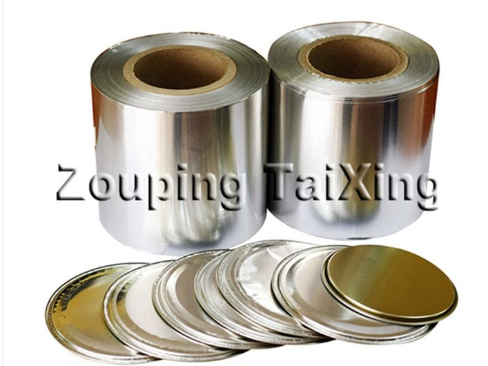 lacquer aluminum foil for peel off ends