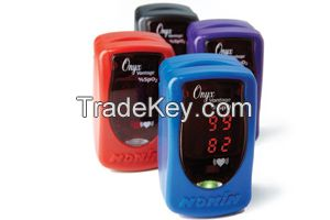 Wireless Adjustable Finger Pulse Oximeter, Adults and Pediatrics
