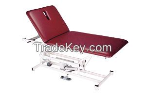 Two Section Top Bariatric Power Adjustable Treatment Table