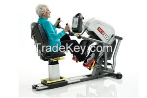 Recumbent Stepper Fitness and Physical Therapy Equipment