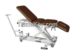 4 Section Hi-Lo Electric Traction Table for Physical Therapy