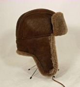 Aviator Bomber Hat - Shearling Classic