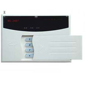 wired/wireless compatiable alarm control panel