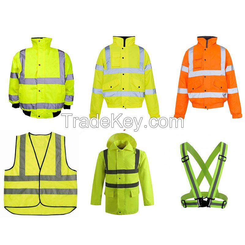 Highly visible economy EN20471 safety vest