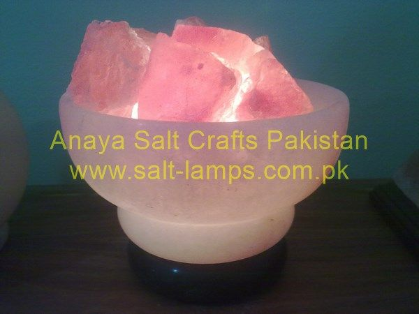 Himalayan Natural Salt Ball Lamp/ Natural Rock Salt Sphere Lamp/Salt Lamps