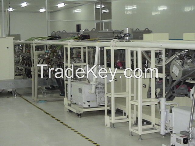 Complete manufacturing line for CIGS solar cell (Turn-Key Project)