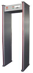Professional walkthrough metal detector