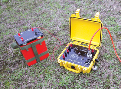 WDA-1 Super Digital DC Resistivity/IP meter