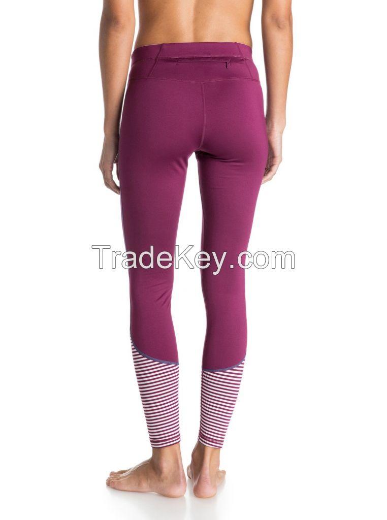 Ladies's lycra fitness pants
