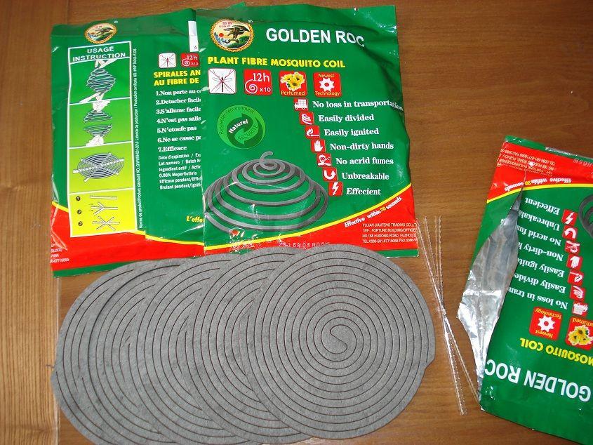 plant fiber mosquito coil