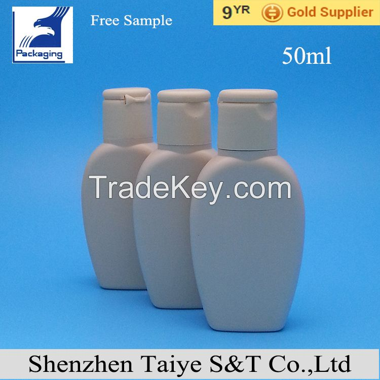 Body  skin care  lotion cosmetic packaging bottles with sprayer or flip top caps